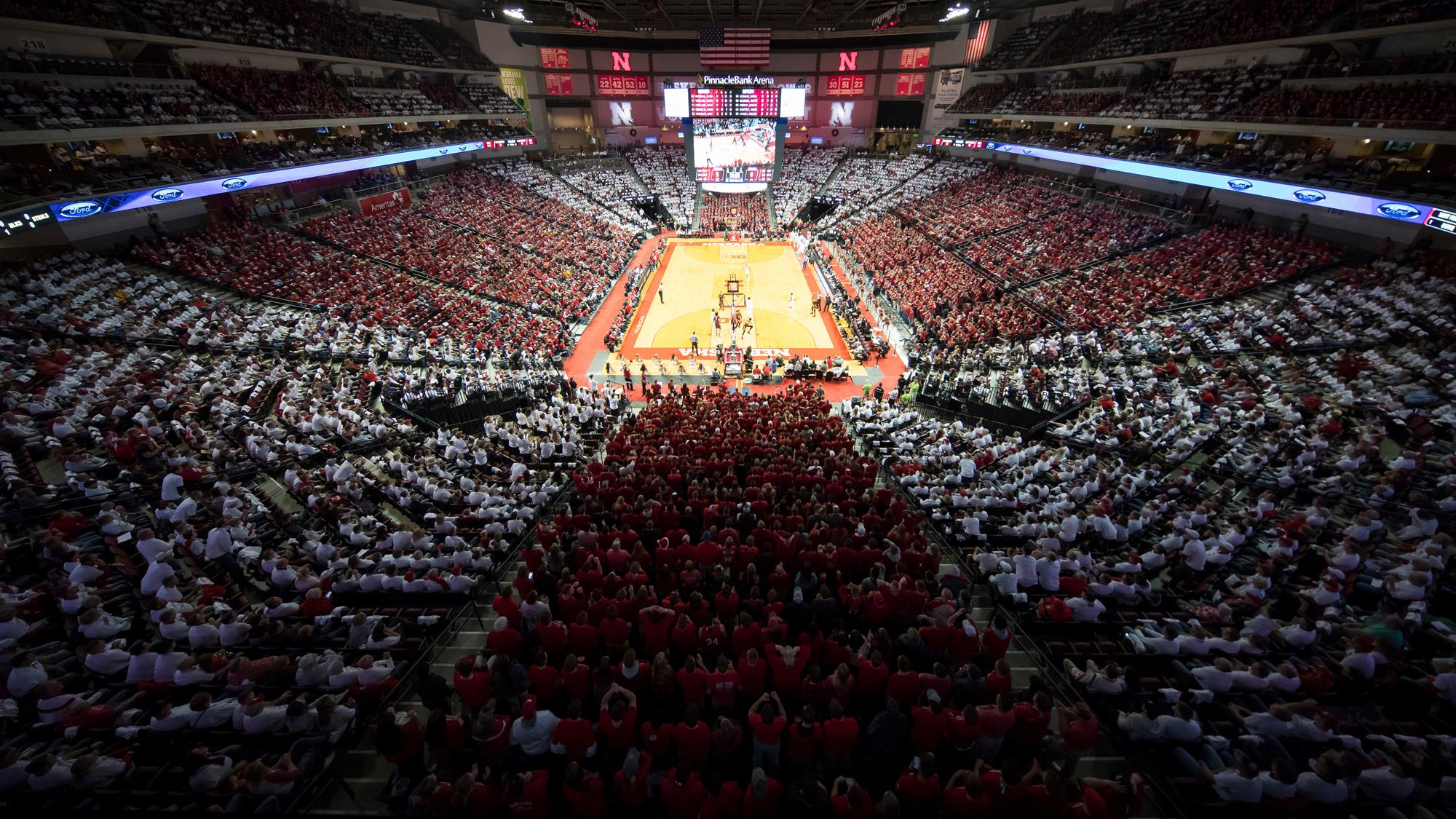 graphic about Man in the Arena Free Printable called Mens Basketball - College or university of Nebraska