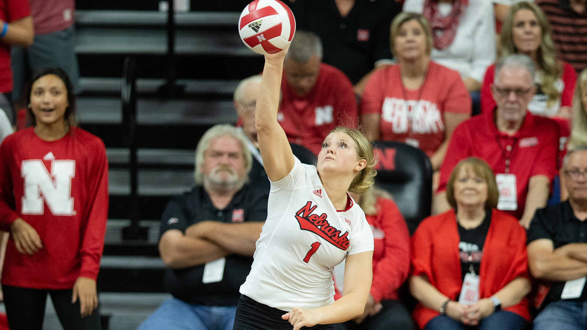 Huskers Begin Conference Play In Illinois University Of Nebraska